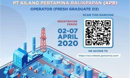Open Recruitment PT Kilang Pertamina Balikpapan (KPB)