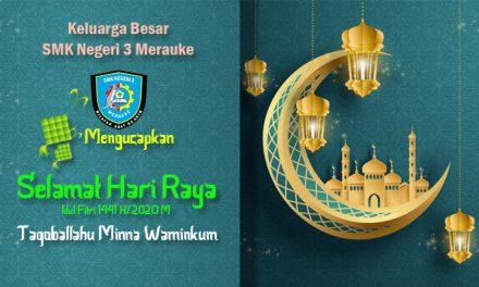 Selamat Hari Raya Idul Fitri 1441 H/2020 M